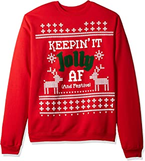 graphic christmas sweater