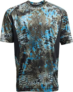 Kryptek Aura Camo Shirt - Quick-Dry Fabric for Fishing & Swimming, UPF 30 UV Sun Protection (K-Ore Collection)