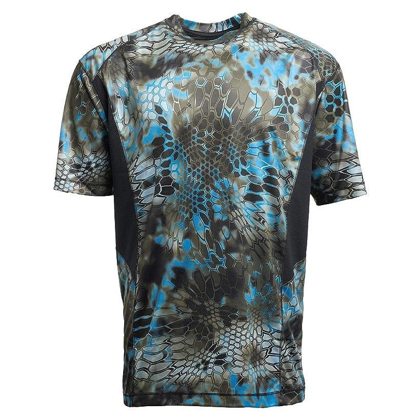 Kryptek Aura Short Sleeve Camo Hunting & Fishing Shirt (K-Ore Collection)