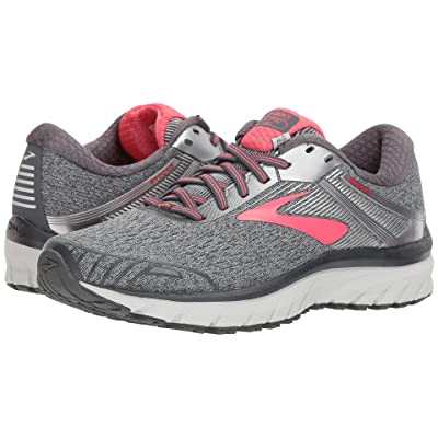 Brooks Adrenaline GTS 18 (Ebony/Silver/Pink) Women