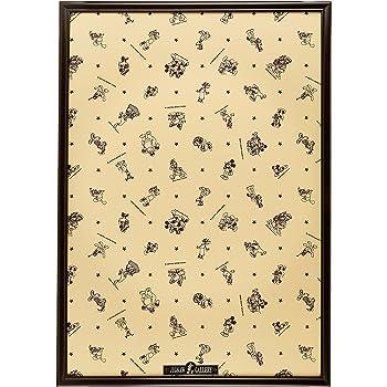 木製パズルフレーム ディズニー専用 1000ピース用 ブラウン (51x73.5cm)
