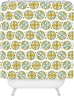 """Deny Designs 13739-shocur Heather Dutton Cartwheel Shower Curtain, 69"""" x 72"""""""