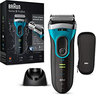 Braun Series3 ProSkin 3080 s - Afeitadora eléctrica hombre, afeitadora barba inalámbrica y recargable, Wet&Dry, máquina d...