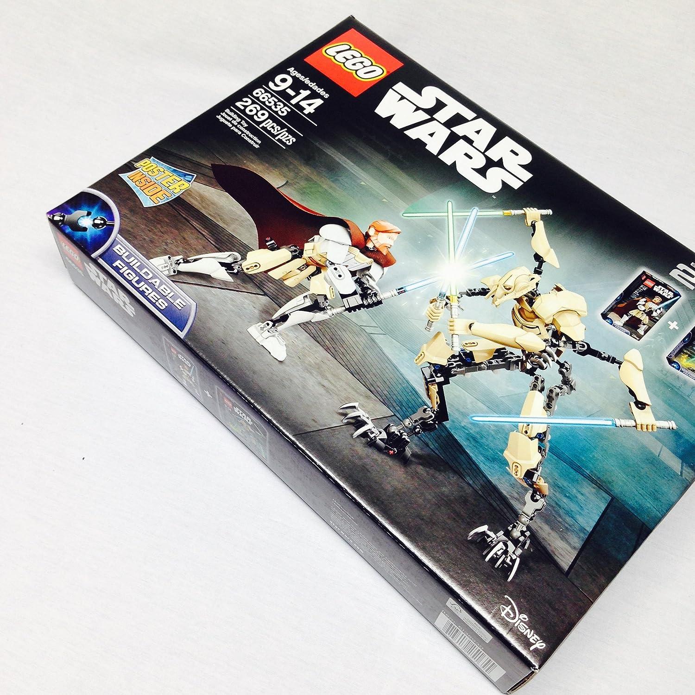 la mejor selección de LEGO Estrella Wars 66535 Obi-Wan Kenobi vs. General Grievous Grievous Grievous Battle Pack  punto de venta barato