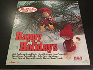 [LP Record] True Value HDWE, Happy Holidays, Vol 15
