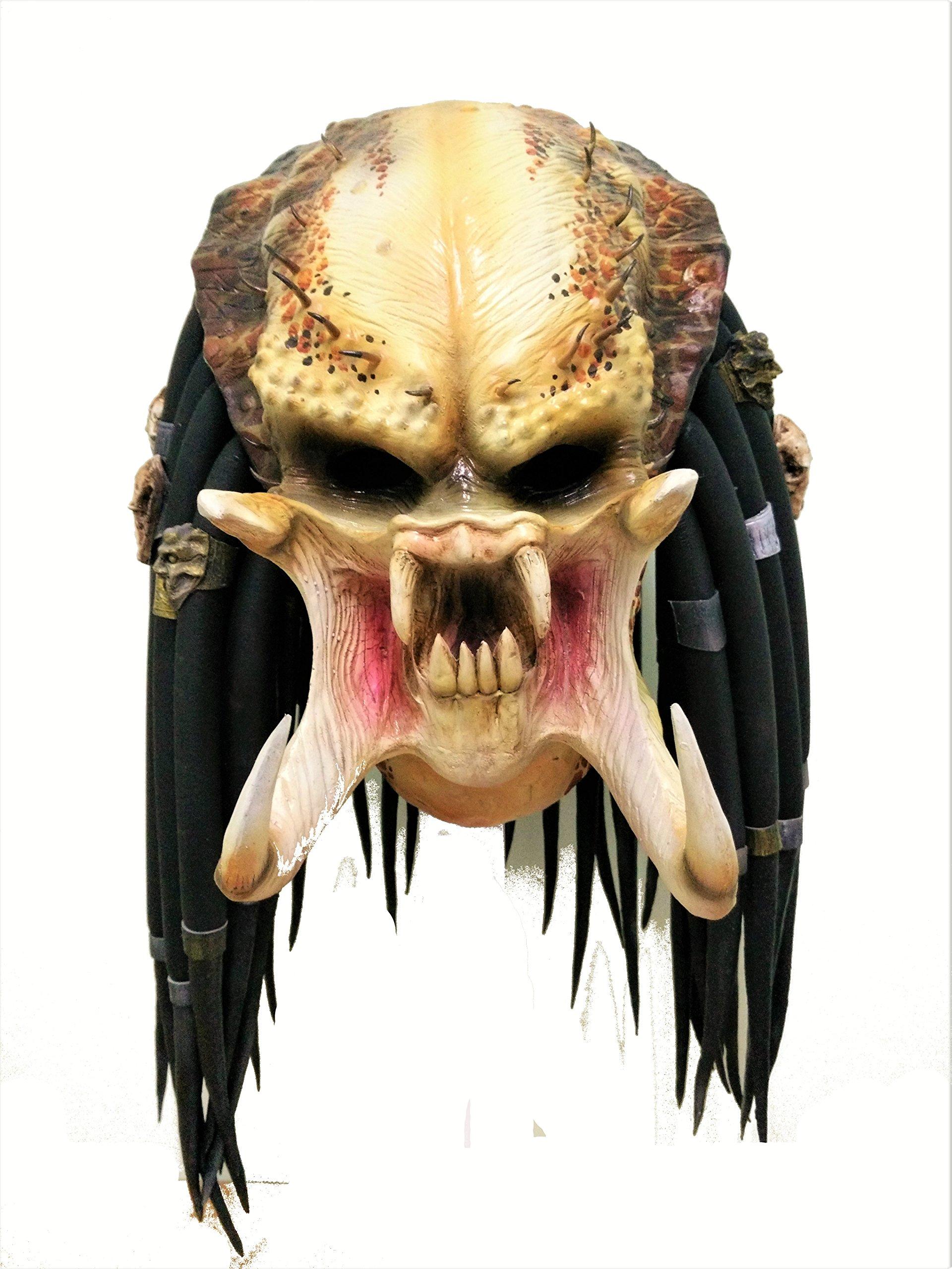 Goodwill Shop - Máscara de Predator, réplica de látex, para ...