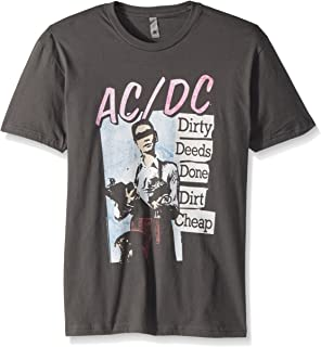 ACDC Dirty Deeds Adult Short Sleeve T-Shirt
