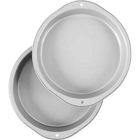 Wilton Recipe Right Non-Stick 9-Inch Round Cake Pans Set, 2-Piece