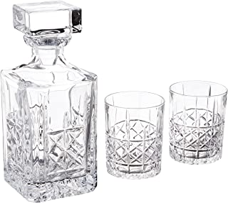 Marquis by Waterford Brady Decanter & DOF Pair, Clear
