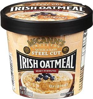 McCann's Irish Oatmeal Original Microwaveable Cup, 1.4 Ounce (Pack of 12)