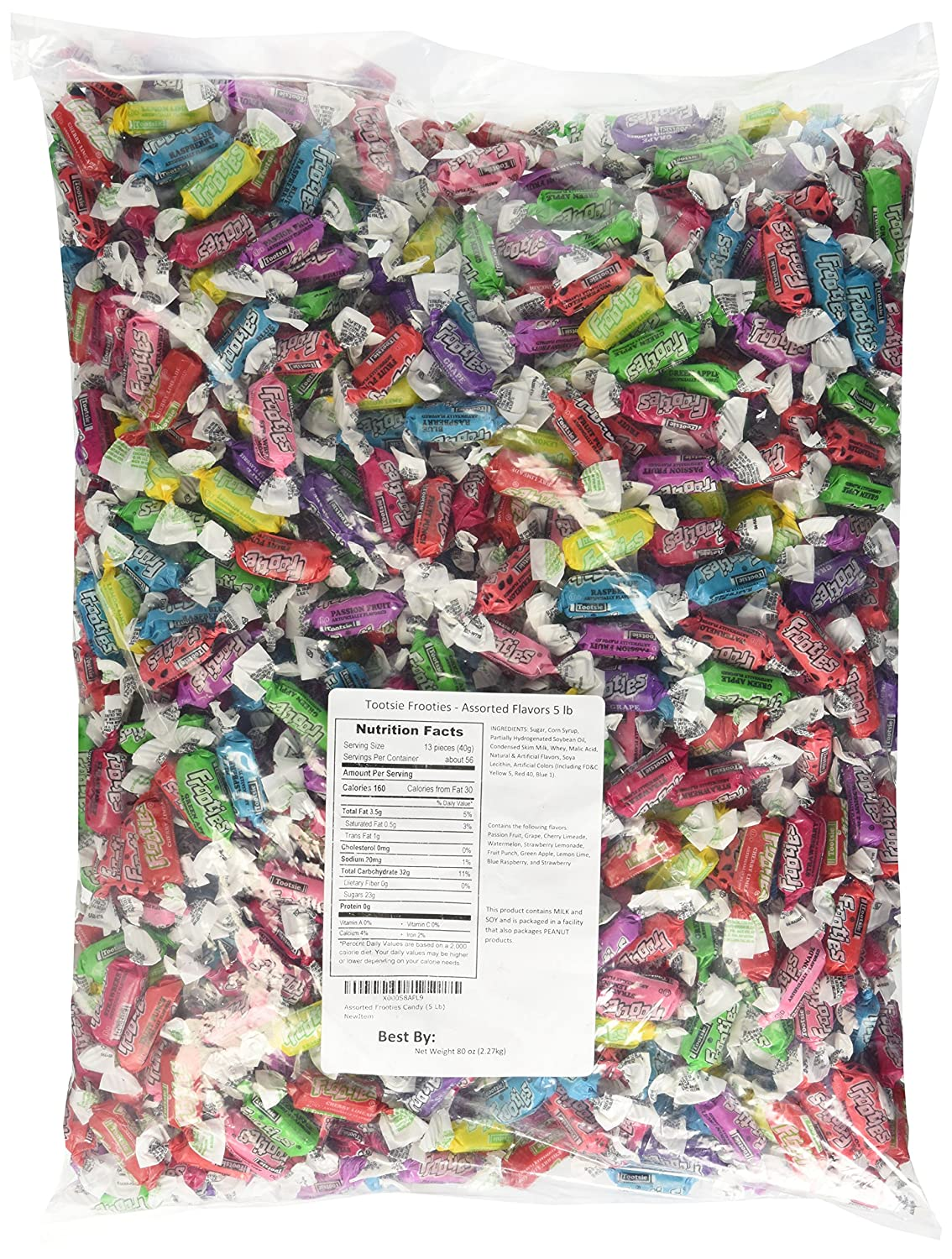 Sales for Large-scale sale sale Tootsies frooties assorted 5lb 2.27kg