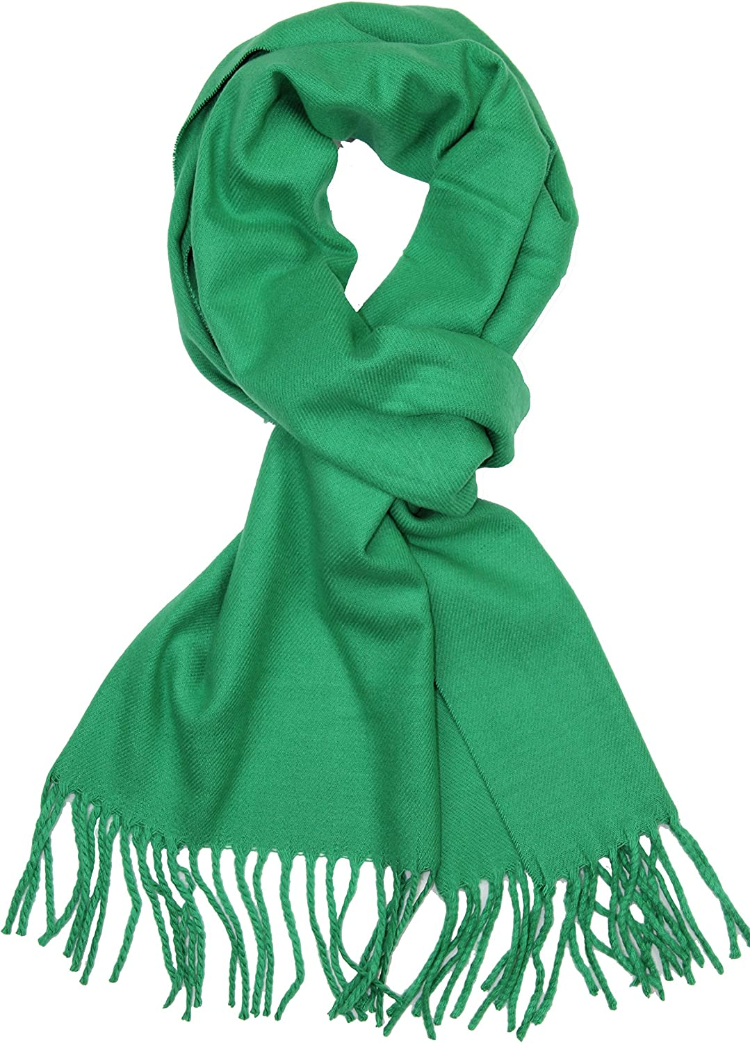 Achillea Soft Warm Solid Color Cashmere Scarf Unis OFFicial mail Large-scale sale order Feel Winter