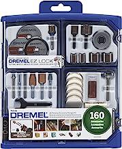 Dremel Rotary Tool Accessory Kit- 710-08- 160 Accessories- EZ Lock Technology- 1/8 inch..