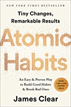 Cover image of Atomic Habits by James Clear
