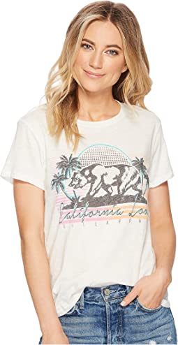 Billabong - Retro Cali Bear T-Shirt Top
