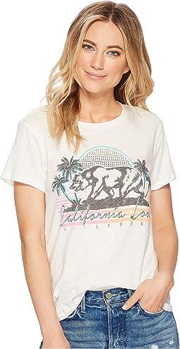 Billabong Retro Cali Bear T-Shirt Top