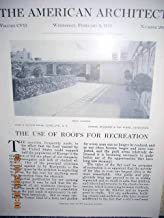 Article: the Use of Roofs for Recreation Illustrated: Several Images of Lord & Taylor and Stewart Store,