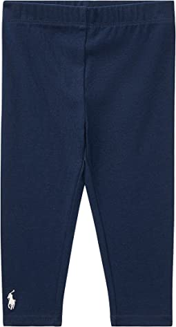 Ralph Lauren Baby - Big PP Solid Leggings (Infant)