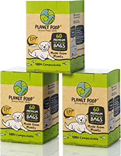 Biodegradable Poop Bags, Dog Waste Bags Compostable,...