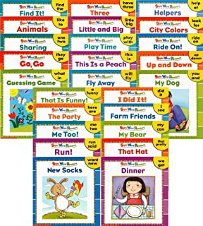 25 NEW Illustrated Sight Word Readers Phonics Teaching Supples Prek Scholastic 25 Books That Teach 50 Must-know Sight Words!! (Sight Word Readers)