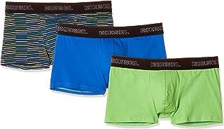 Diesel Men's UMBX-shawnthreepack Boxer 3pack Stripes