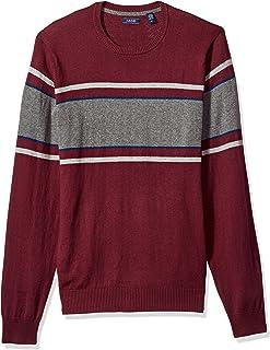 IZOD Men's Long Sleeve Fine Gauge Soft Crewneck Sweater