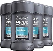 Dove Men+Care Antiperspirant Deodorant 48-Hour Wetness Protection Clean Comfort Non-Irritant Deodorant for Men 2.7 oz, 4 C...