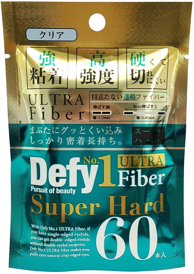 くつろぎ不承認製品Defy No.1ウルトラファイバー スーパーハード クリア
