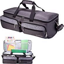 DYJKOUG Case Bag for DIY Cutting Machine, Shoulder Bag and Tote Bag Compatible with Explore Air 2 Cut Maker and Die-Cut Machines (Darkgray)