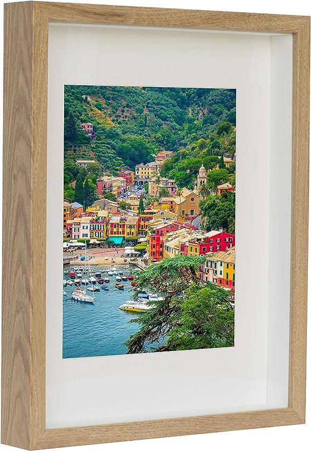 4113 opinioni per BD ART 28 x 35 cm Box 3D Cornice Portafoto Colore Quercia Rustico con