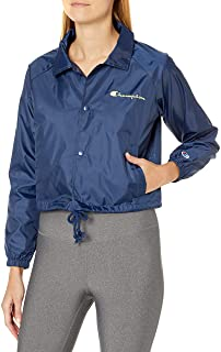 Champion Womens J0334 Cropped Coaches Jacket Jacket
