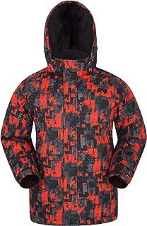 Shadow Mens Printed Ski Jacket - Warm Snow Jacket