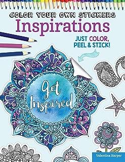 Color Your Own Stickers Inspirations: Just Color, Peel & Stick (Design Originals)