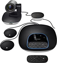 Logitech Group Video Conferencing Bundle with Expansion Mics for Big Meeting Rooms