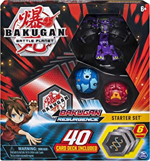 Bakugan, Battle Brawlers Starter Set with Transforming Creatures, Darkus Hydranoid, for..