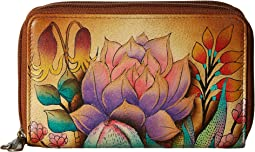Anuschka Handbags - 1125 Twin Zip Organizer Wallet