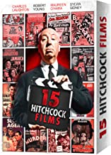 15 Alfred Hitchcock Movies - Gift Box: (The Lady Vanishes / Sabotage / Manxman / Blackmail /Jamaica Inn / and more)