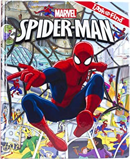 Marvel Spider-Man Look and Find Activity Book - PI Kids