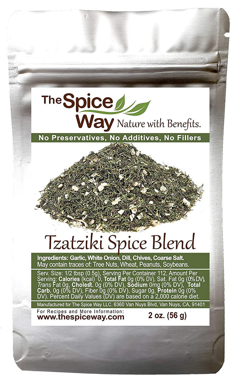 The Spice Way - Tzatziki Seasoning Dip (2 oz)