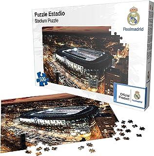 Puzle de 500 Piezas del Santiago Bernabéu - Real Madrid CF - Rompecabezas (Producto Oficial Licenciado)