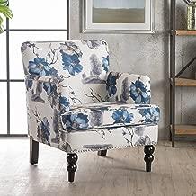 floral print club chairs