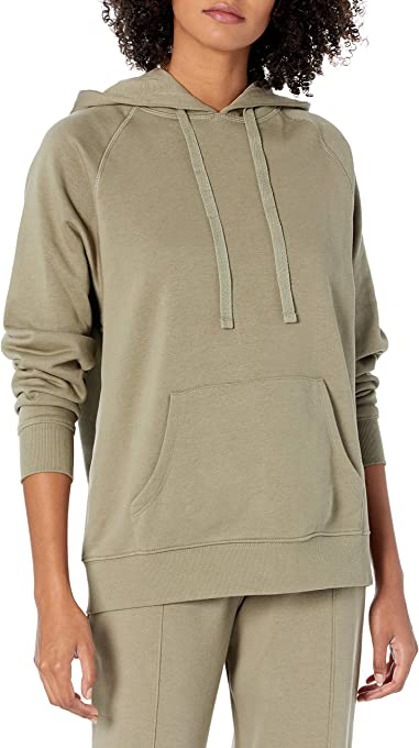 The Drop Women's Renee Washed Fleece Slouchy Hoodie
