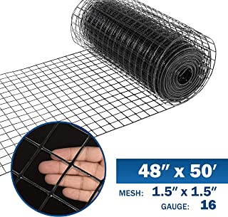 24 Inch by 25 Foot Galvanized Welded ... YARDGARD 309320A 1 Inch by 2 Inch Mesh
