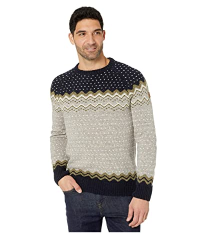 Fjallraven Ovik Knit Sweater (Navy) Men