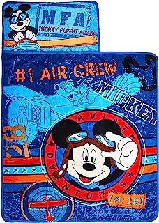 Disney Mickey`s Toddler Rolled Nap Mat, Flight Academy