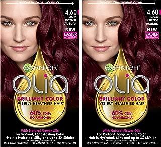 olia deep red hair dye