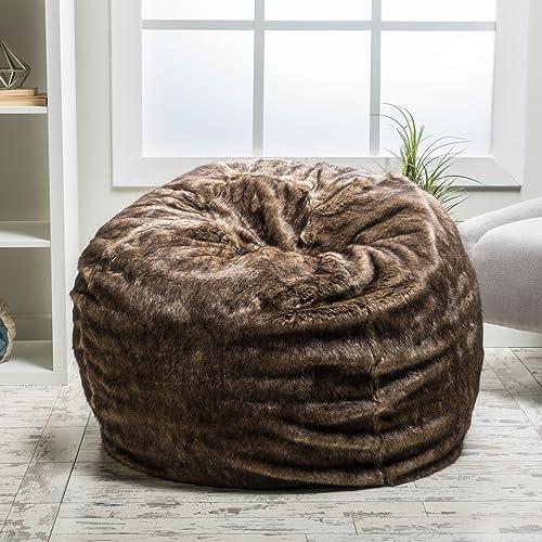 241ae7a10d52 Fuzzy Bean Bag Chair  Amazon.com