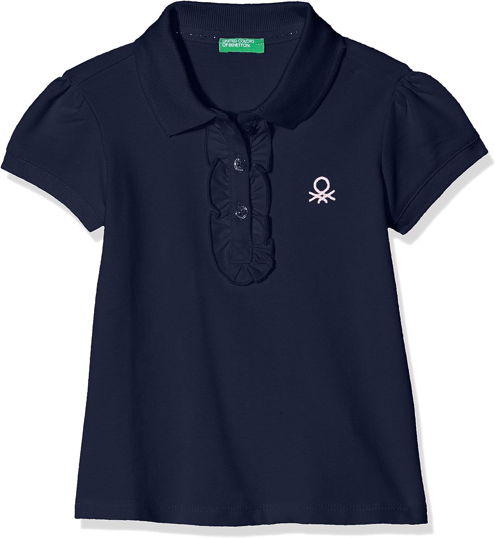 United Colors of Benetton H//S Shirt Polo para Ni/ñas