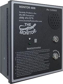 Monitor 4000 Exit Alarm - Auto-Reset Anti-Prop