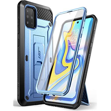 Supcase Outdoor Hülle Für Samsung Galaxy A51 6 5 4g Case 360 Grad Handyhülle Bumper Schutzhülle Cover Unicorn Beetle Pro Mit Displayschutz Blau Elektronik